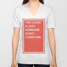 The Cloud Unisex V-Neck
