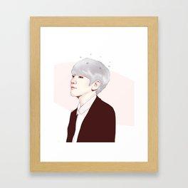 EXO B Framed Art Print