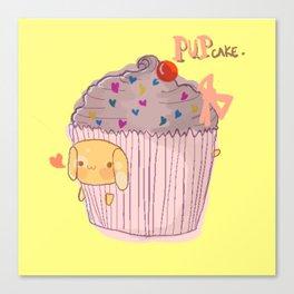Pupcake Canvas Print