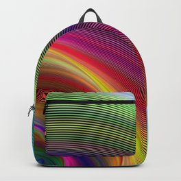 Vortex of colors Backpack