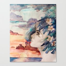 The Lost Love of Wandering Aengus Canvas Print