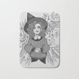 Cute Witch Bath Mat