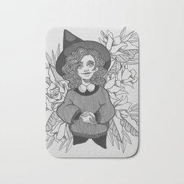 Cute Witch Bath Mat