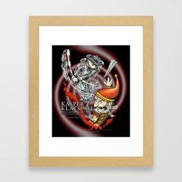 Kasperklatsche Framed Art Print