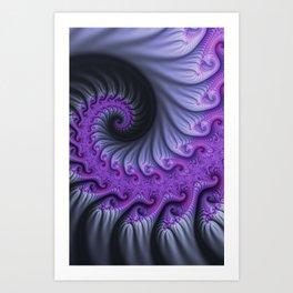 fractal art -200- Art Print