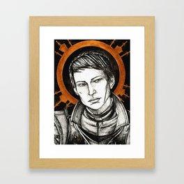 Ladies of Dragon Age: Cassandra Framed Art Print