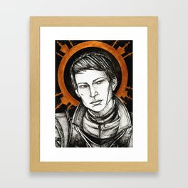 Ladies of Dragon Age: Cassandra Framed Art Print