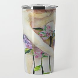 Among the Flowers Travel Mug