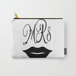 Mrs Mug Mrs. Coffee Mug  wedding gift for her Carry-All Pouch
