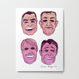 POINT BREAK SERIES - The Ex Presidents Metal Print