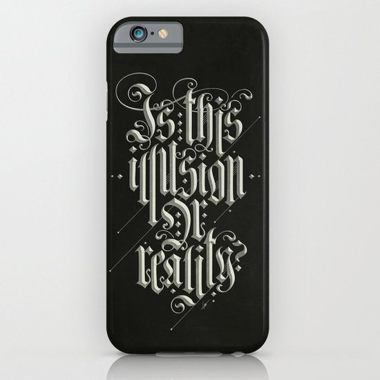 Is This Illusion Or Reality? iPhone & iPod Case