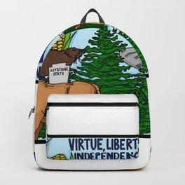 Pennsylvania Symbols Backpack