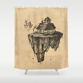Floating Home Shower Curtain