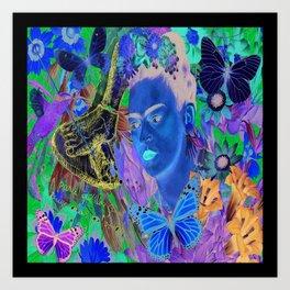 Frida Kahlo Alas Art Print