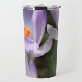 Crocus flowers Travel Mug