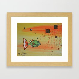 """B Greeny"" Framed Art Print"