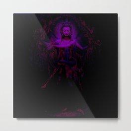 Kuan Yin Compassion Metal Print