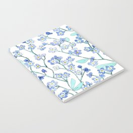 forget-me-not Notebook