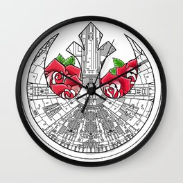 Rebel Alliance Millennium Falcon Wall Clock