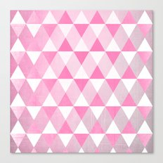 Pink Luck Canvas Print