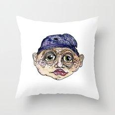 old man 3 Throw Pillow