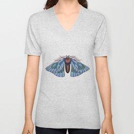 blue moth (original sold) Unisex V-Neck