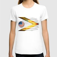 american T-shirts featuring American by ilustrarte