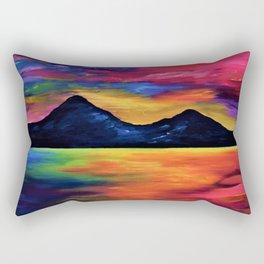 Tropical Sunset at Murlough Rectangular Pillow