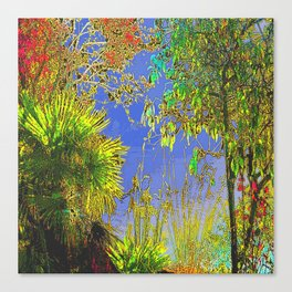 suny green Canvas Print