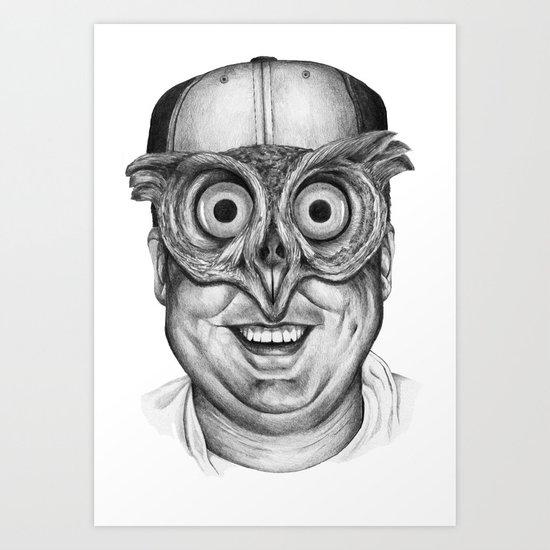 a través de ti... Art Print