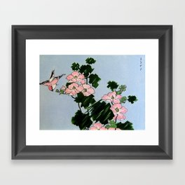 Blossoming nature Framed Art Print