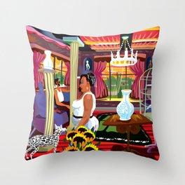 Casa de Citas Throw Pillow