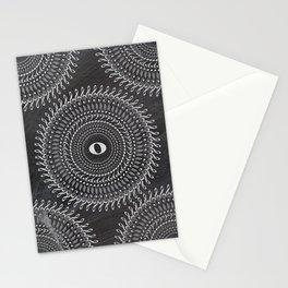 Music note mandala 2 (chalk) Stationery Cards