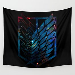 Wings Of Justice: Galaxy Wall Tapestry