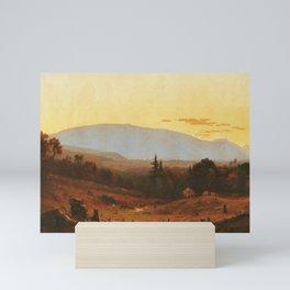Sanford Robinson Gifford - Hunter Mountain, Twilight Mini Art Print