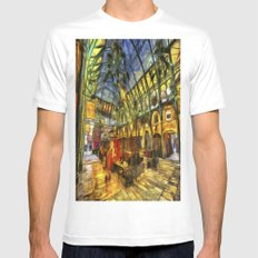 Covent Garden Van Gogh White MEDIUM Mens Fitted Tee