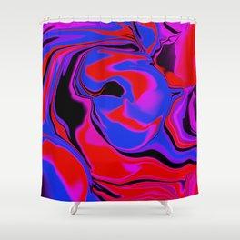 dreamland color flow Shower Curtain