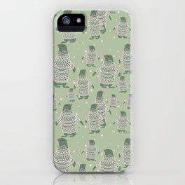 Penguin Christmas iPhone Case