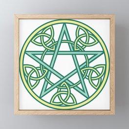Celtic Pentacle Framed Mini Art Print