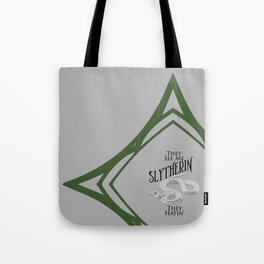 They See Me Slytherin Tote Bag
