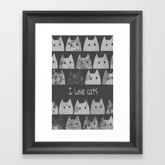 cat-53 Framed Art Print