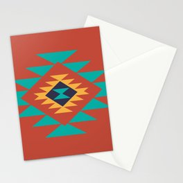 Southwest Indian Tribal Abstract Pattern Stationery Cards