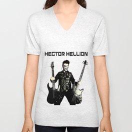 Hector Hellion - Guitar & Bass Unisex V-Neck