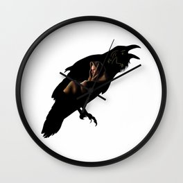 Raven Ragnar Wall Clock