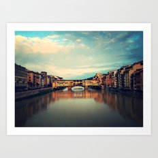 Puente Viejo Art Print