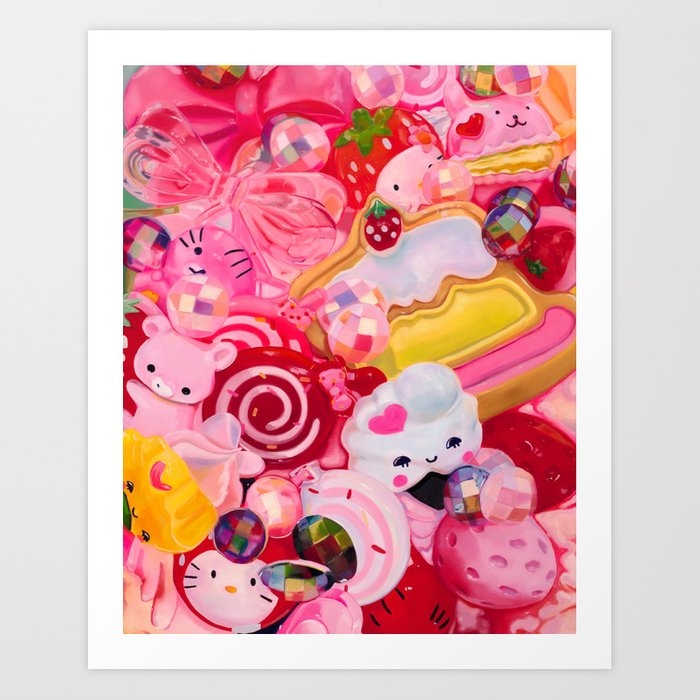 Everything's Coming Up Roses Art Print