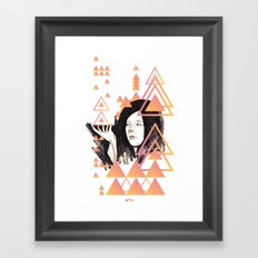 Noir Series 002. Framed Art Print