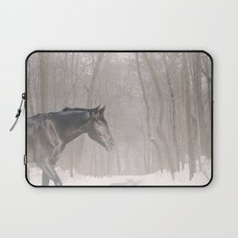 Bubba in the snow Laptop Sleeve
