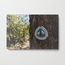 Marker - Pacific Crest Trail, California Metal Print