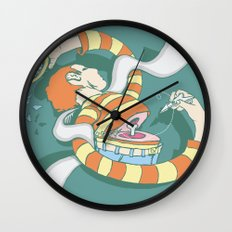 Put Yourself Back Together Again Wall Clock